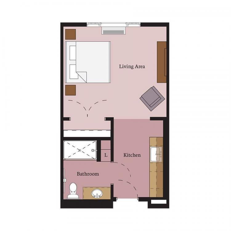 Keller Floor Plan